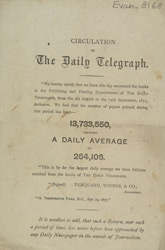 Advert for the Daily Telegraph